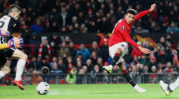 Mason Greenwood is highly thought of (Martin Rickett/PA)