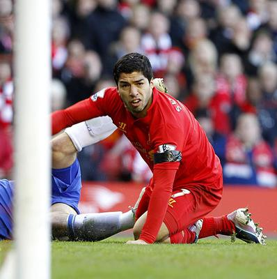 There have been calls from some quarters for Liverpool to sack Luis Suarez, right