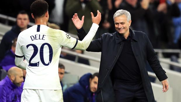 Tottenham manager Jose Mourinho says he is 'so happy' at the club he cannot imagine being elsewhere.