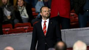 Manchester United's executive vice-chairman Ed Woodward says the club are well-placed to return to the Champions League