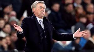Carlo Ancelotti has taken a wage deferral at Everton (Yui Mok/PA)