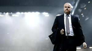 Sean Dyche has voiced his frustration as he awaits news on player contracts (Martin Rickett/PA)