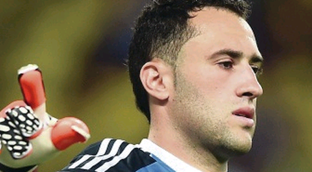 Net gain: Colombia keeper David Ospina is Arsenal bound