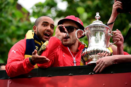 Controversy: Jack Wilshere could find himself in hot water after comments made during Arsenal's FA Cup victory parade