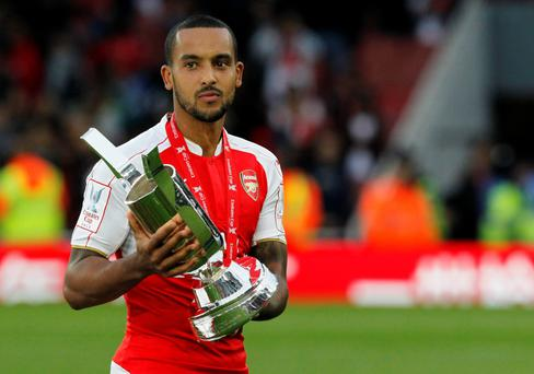 Future: Theo Walcott could pen a new deal with Arsenal soon