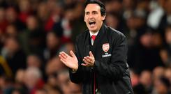 Form guide: Unai Emery's men have won their last 10 games