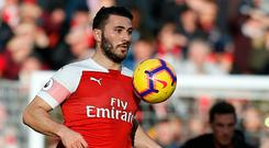 Fine display: Sead Kolasinac was named man of the match