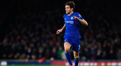 Silly mistakes: Marcos Alonso said errors hurt Chelsea