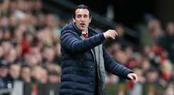 On repeat: Unai Emery's side won from a first-leg deficit in the last round