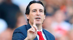 Looking up: Unai Emery
