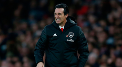 Under pressure: Unai Emery's side slipped up again