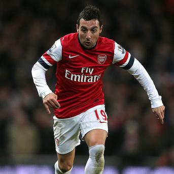 Santi Cazorla joined Arsenal from Malaga in the summer