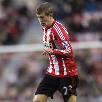 James McClean is struggling with an ankle problem