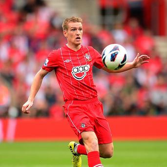 Steven Davis scored the second of Southampton's three goals against Manchester City