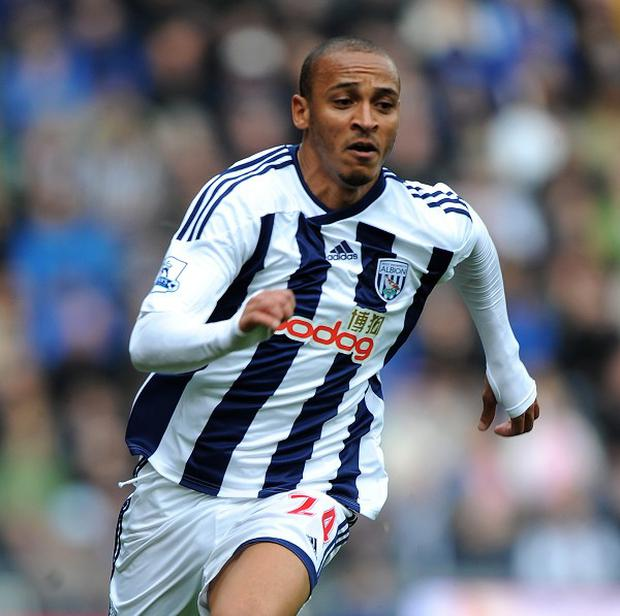 Peter Odemwingie, pictured, is part of West Brom coach Steve Clarke's plans for this season