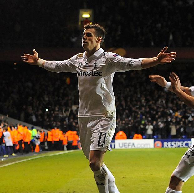 Gareth Bale scored two sensational free-kicks in Tottenham's Europa League victory over Lyon