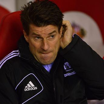 Michael Laudrup insisted he had no regrets about making changes to his Swansea side