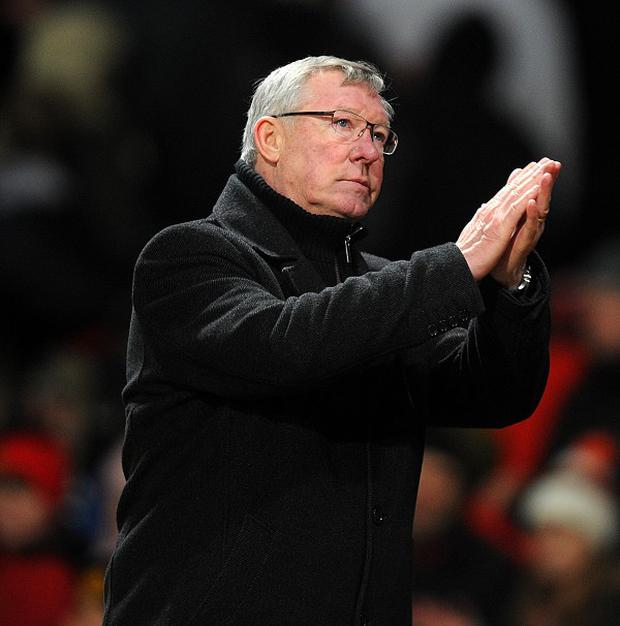 Sir Alex Ferguson is gunning for his second treble