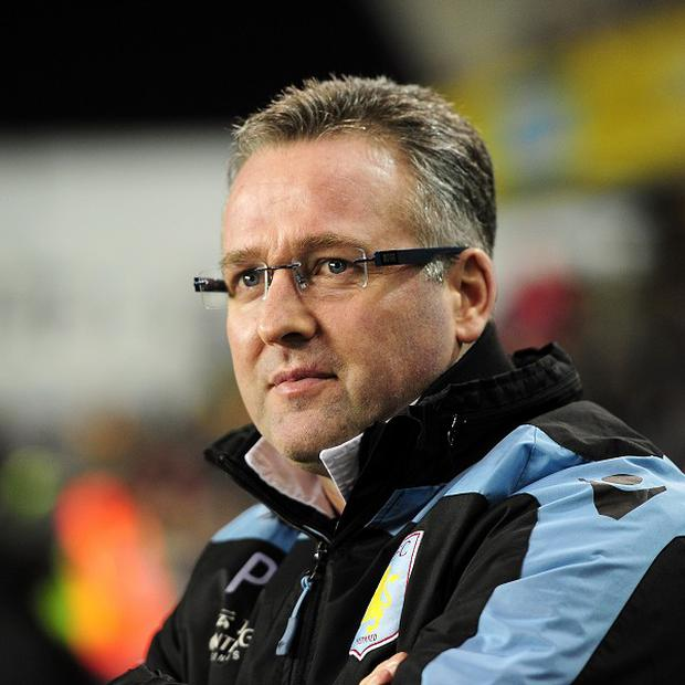 Paul Lambert is looking forward not back