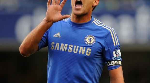 John Terry admits he faces a challenge in getting regular games owing to injury
