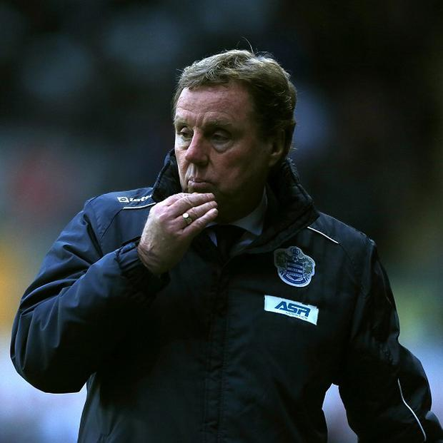 Harry Redknapp is confident QPR can beat Manchester United