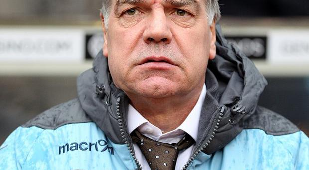 Sam Allardyce believes there are high expectations at Tottenham