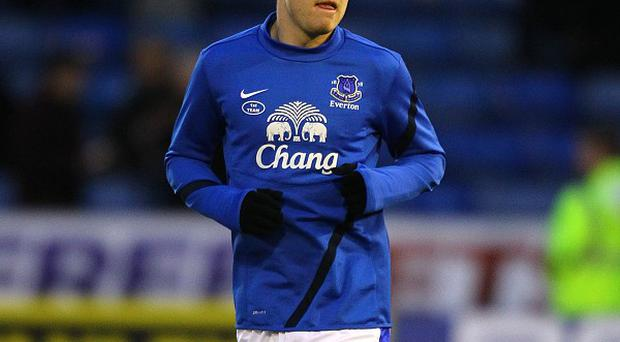 Steven Naismith does not think Everton's dip in form is down to fatigue