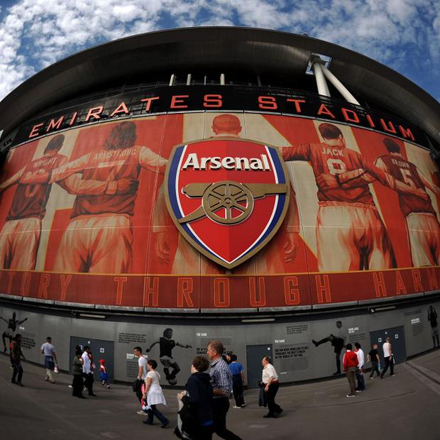 Arsenal have revealed an increased figure of 123.3 million pounds in cash reserves