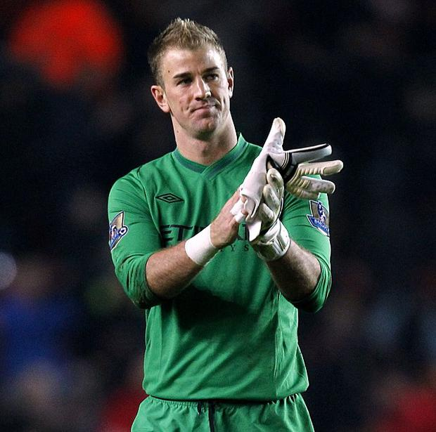 Joe Hart stressed champions Manchester City will fight to the end