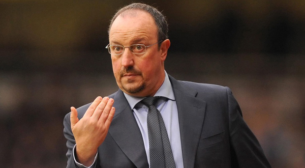Rafael Benitez said last night that he would be leaving Chelsea in the summer