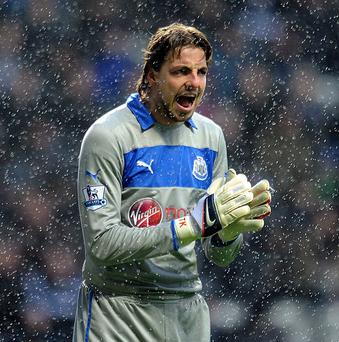 Tim Krul visited a specialist earlier this week regarding his ankle injury