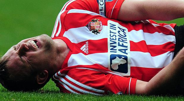 Lee Cattermole is struggling with a knee injury
