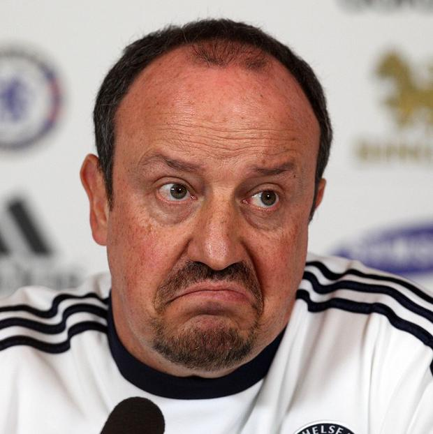 Rafael Benitez claimed his players are standing by him following his rant