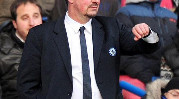 Interim boss Rafael Benitez hailed Chelsea's fans after their 1-0 win