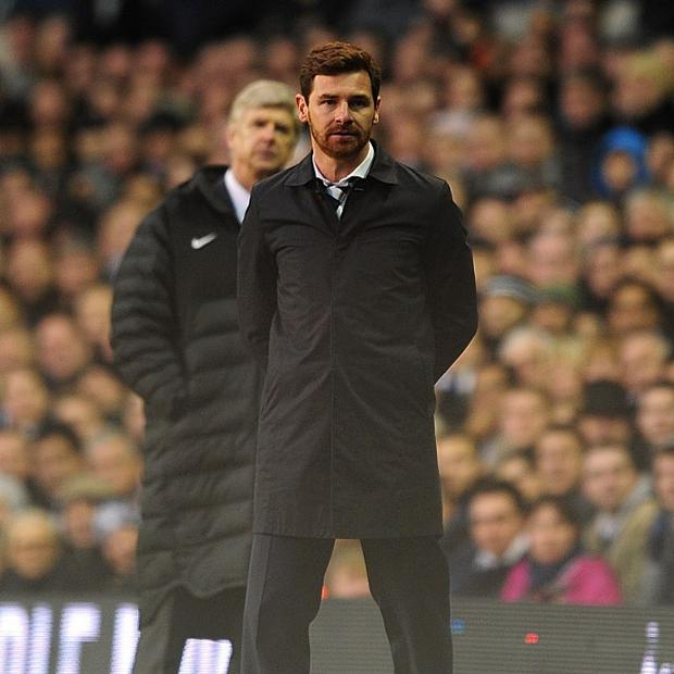 Andre Villas-Boas, right, insists Tottenham cannot afford to take their eye off the ball