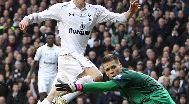 Goalscorer Gareth Bale, top, has been a target for abusive chants by opposing fans