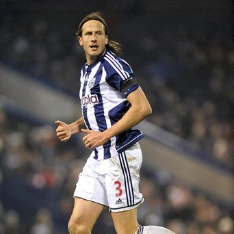 Jonas Olsson signed a four-year contract extension at West Brom in September