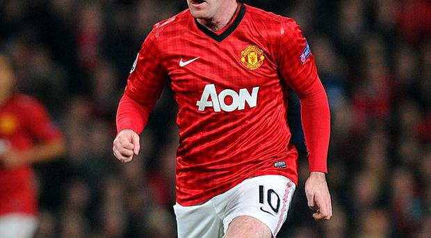 Wayne Rooney was among the substitutes as Manchester United were beaten by Real Madrid on Tuesday night