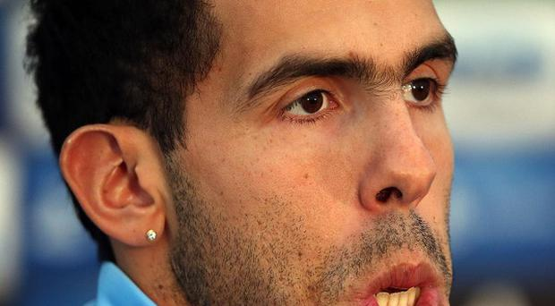 Carlos Tevez was arrested in Cheshire on Thursday