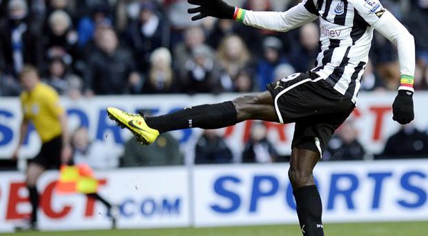 Papiss Cisse fires Newcastle further clear of the relegation zone