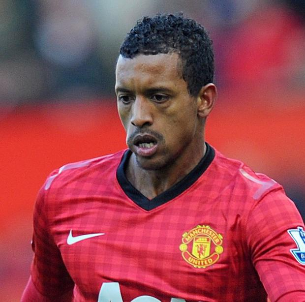 Nani has made 212 appearances for Manchester United