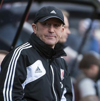 Tony Pulis is under pressure after three successive defeats