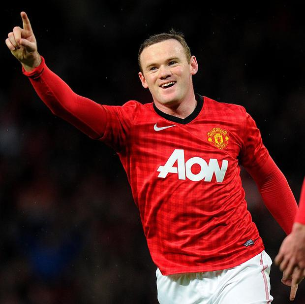 Wayne Rooney scored Manchester United's winner midway through the first half