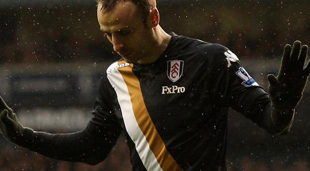 Dimitar Berbatov told his manager he would score on Sunday