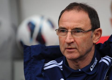 Ex-Celtic boss Martin O'Neill is hot favourite to succeed Giovanni Trapattoni as manager of the Republic of Ireland football team