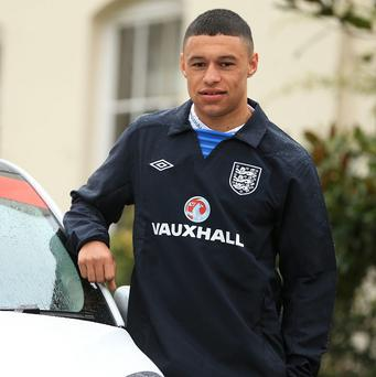 Alex Oxlade-Chamberlain is the England squad for the qualifiers against San Marino and Montenegro