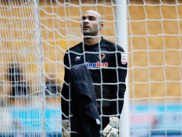 Wolves keeper Carl Ikeme