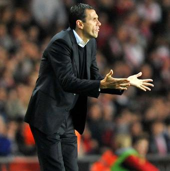 Gus Poyet was the favourite to take over as Reading boss