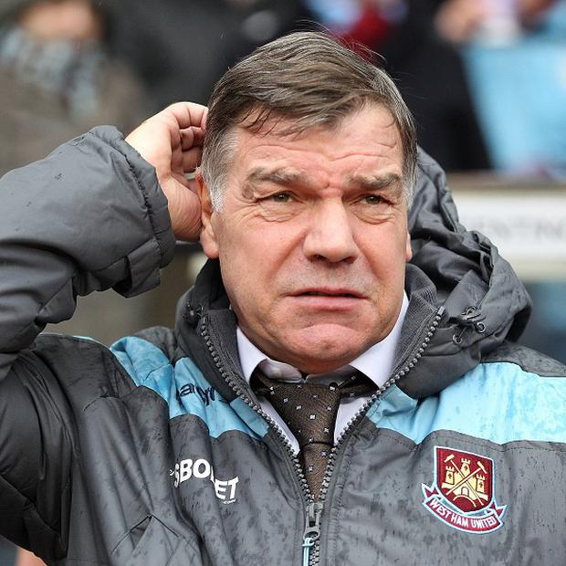 Joe Cole has heaped praise on West Ham boss Sam Allardyce, pictured