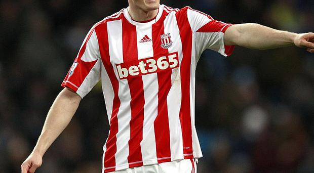 Robert Huth is set to return for Stoke's clash with Everton this weekend